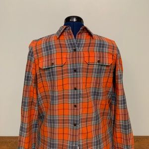 Ralph Lauren Jeans Co. Orange Flannel Men's (S)